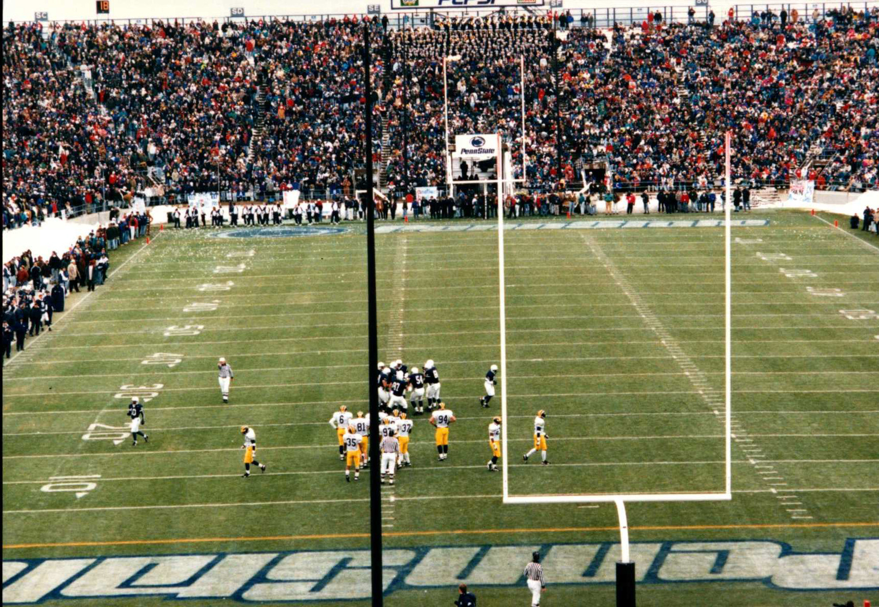 Twenty Years Later Remembering Penn State Vs Michigan In 1995 Penn State University Athletics
