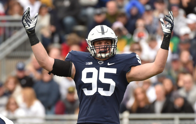 Nassib Named Big Ten Defensive Player of the Year - Penn State ...