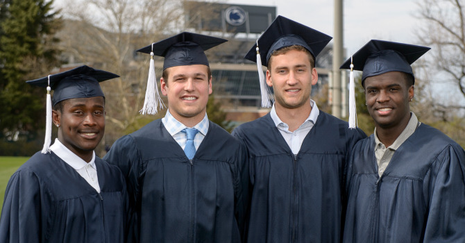 More Than 50 Penn State Football Student Athletes Post 30 Or Higher
