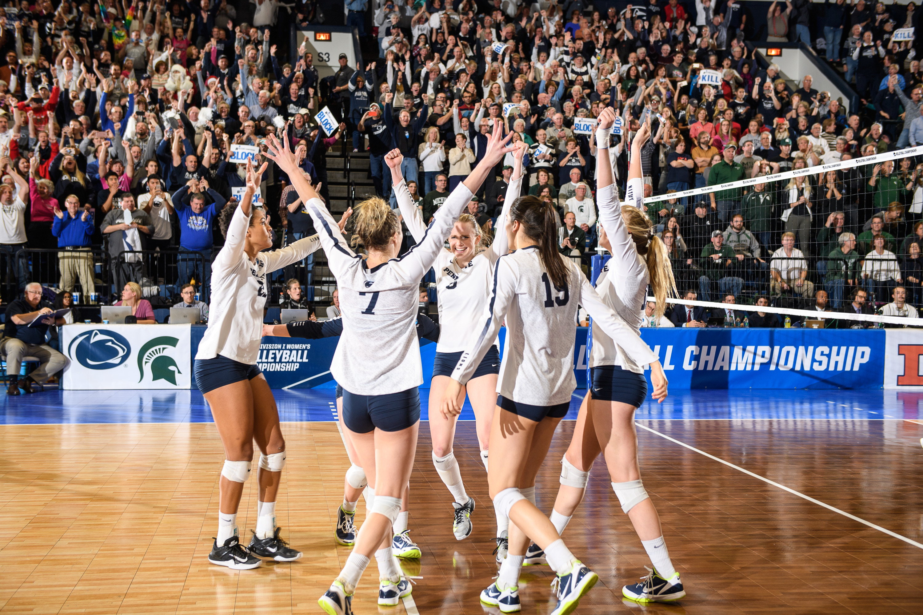 Penn State Resilient In Regional Final Sweep Penn State University Athletics