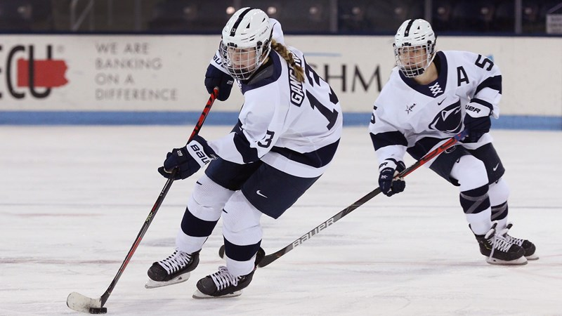 Women's Hockey Faces Road Test At Providence