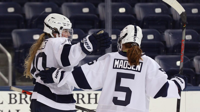 Women's Hockey Reaches Four Games Unbeaten With 2-2 Draw