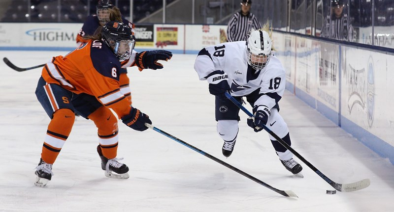 Women's Hockey Closes Out First Half Hosting RIT