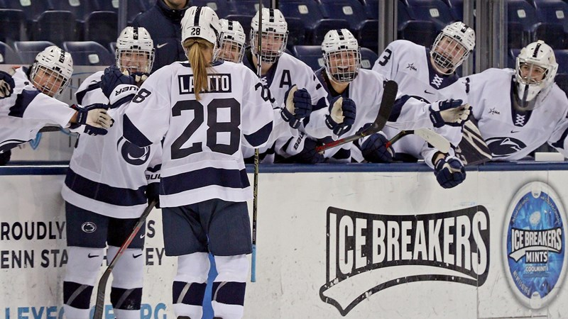 Penn State Picks Up 3-0 Shutout Win Over RIT In Conference Play