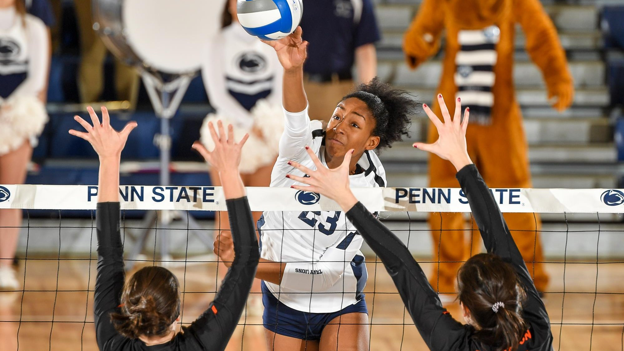 Penn State Opens Ncaa Tournament With Sweep Over Princeton Penn State University Athletics