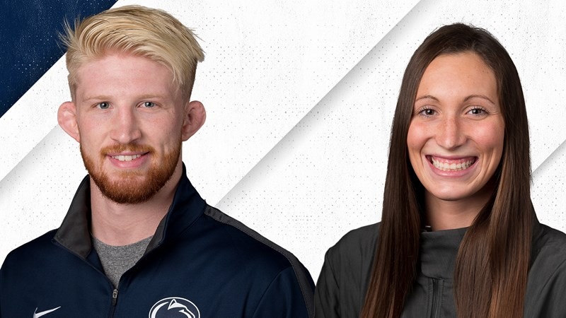 McHugh and Nickal Selected Student-Athletes of the Year