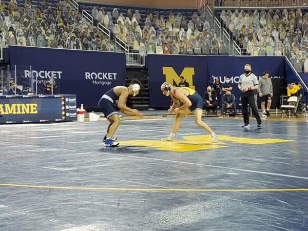 No. 3 Penn State Wins at No. 2 Michigan in Another B1G Road Dual - GoPSUsports.com