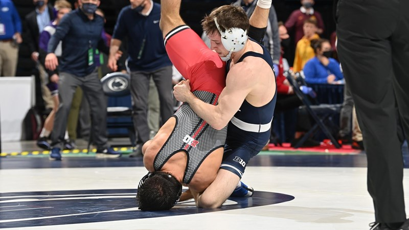 Nittany Lion Wrestlers Send Four to Big Ten Finals - Penn State University Athletics - GoPSUsports.com